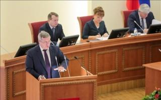 Руководитель программы Юрий Колесников принял участие в ежегодном Инвестиционном послании  губернатора Ростовской обл