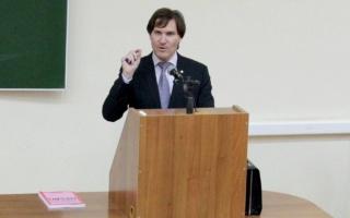 """Руководитель МП """"Юрист-Финансист"""" Ю.А. Колесников представил авторскую концепцию финансовой детерминации общественного развития"""