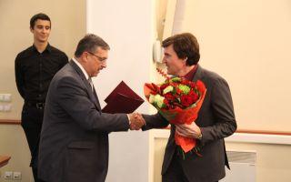 Ю.А. Колесников получил поздравление от имени ректора ЮФУ