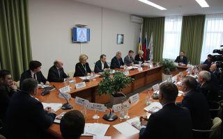 Расширенное совещание  Попечительского совета ЮФУ в Таганроге