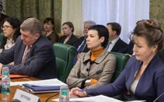 Ирина Рукавишникова приняла участие в обсуждении законопроекта в Совете Федерации