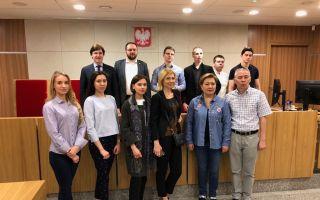 Визит делегации юридического факультета ЮФУ в Варшаву