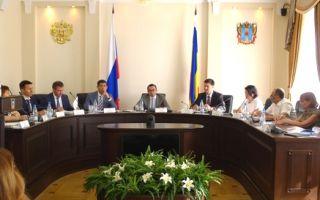 Юрий Колесников принял участие в заседании Совета Правительства РО по вопросам автострахования