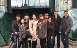 Визит делегации юрфака ЮФУ в Варшавский университет